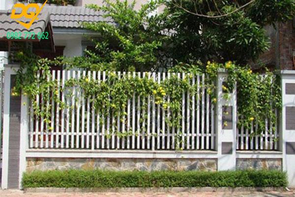 Hàng rào sắt hộp mạ kẽm - 2