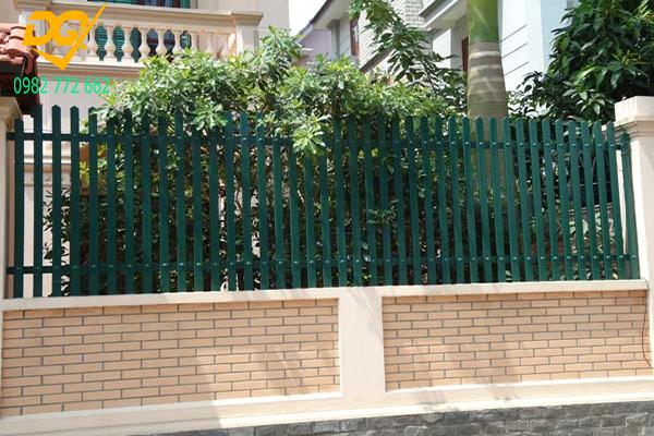 Sơn Hàn rào sắt đẹp - 1