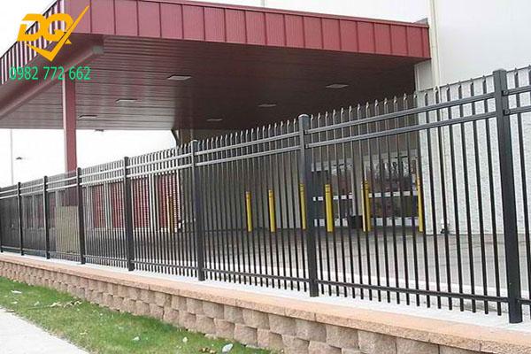 Mẫu hàng rào sắt - 1